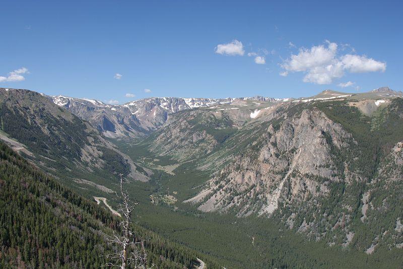 vue depuis Rock Creek Vista Point