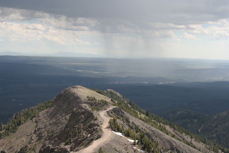 vue du mount Wasburn