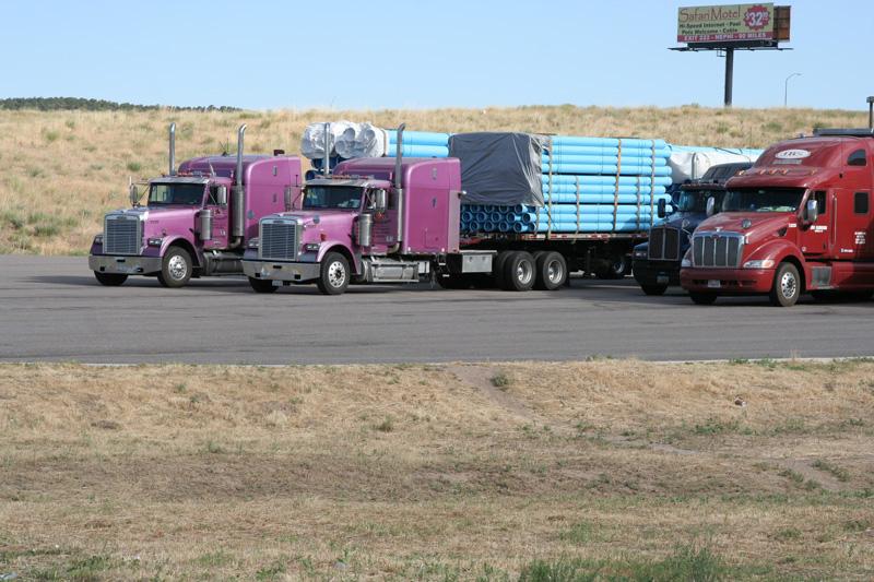 les camions des USA