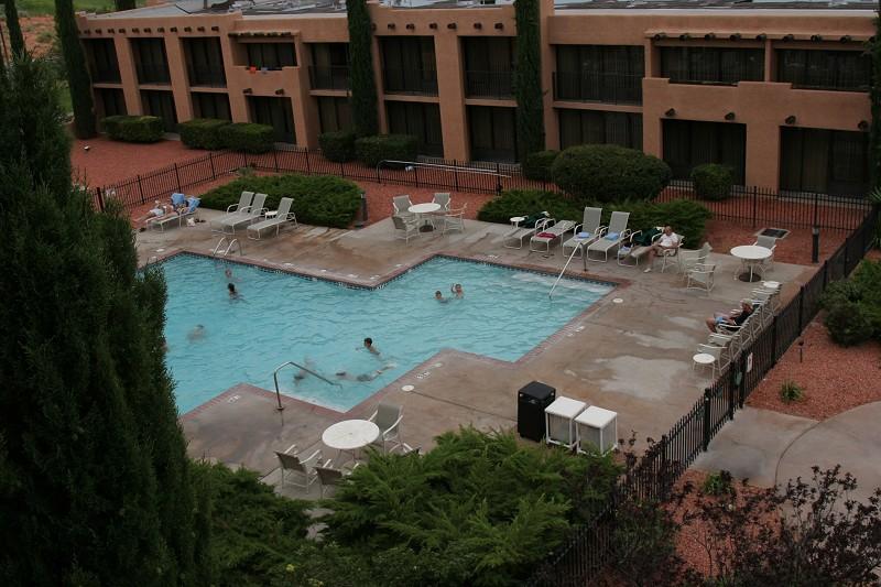 piscine hôtel marriott page